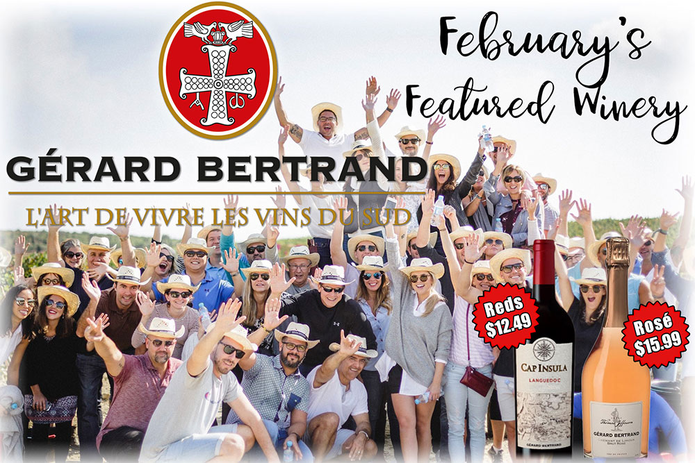 Gerard Bertrand Winery - S&V Liquors' Winery of the Month for February 2019