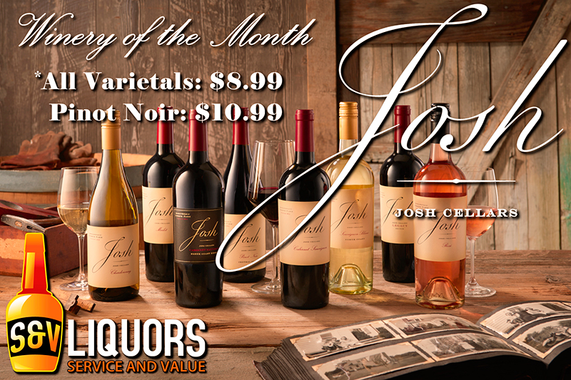 Josh Cellars Winery of the Month