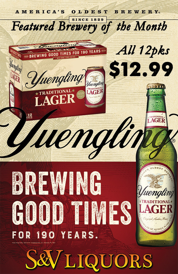Yuengling Brewing - 190 Years of American Tradition
