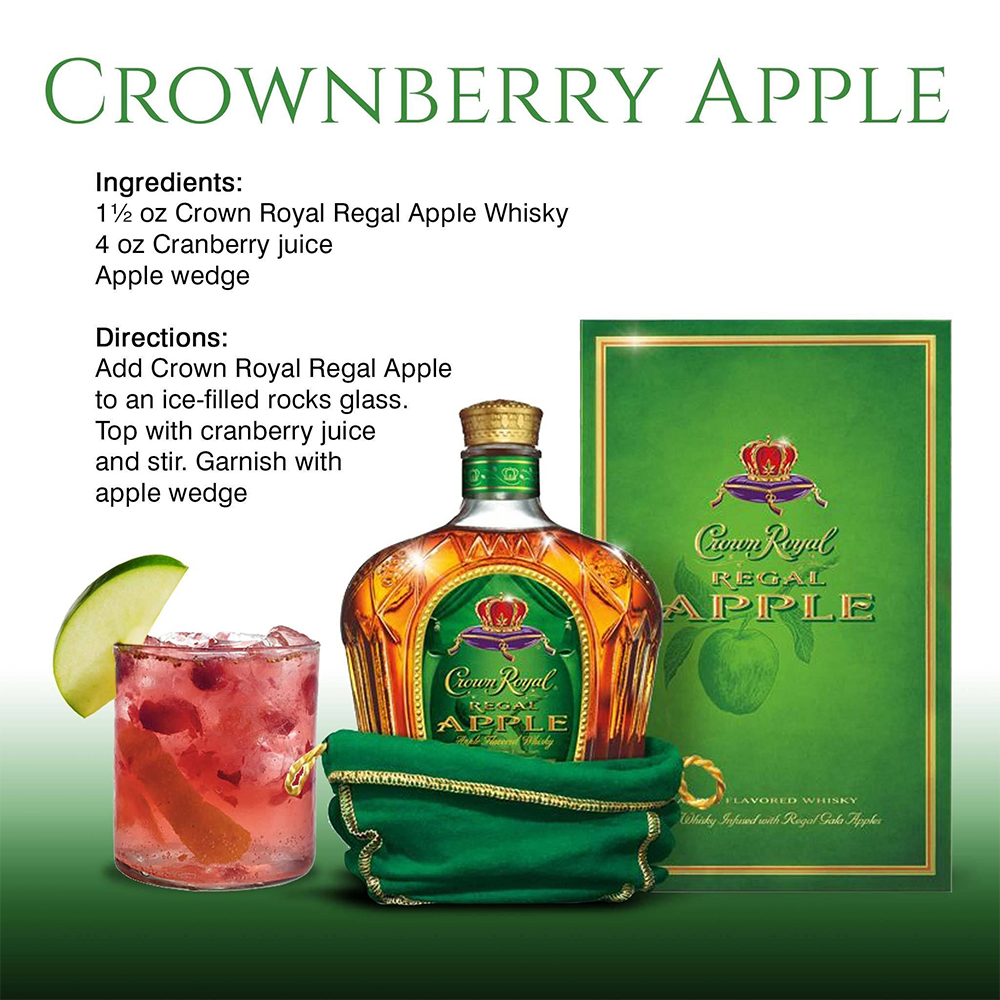 CrownBerry Apple Recipe Card