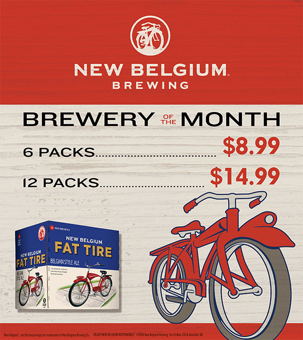 August's Featured Brewery - New Belgium Brewing
