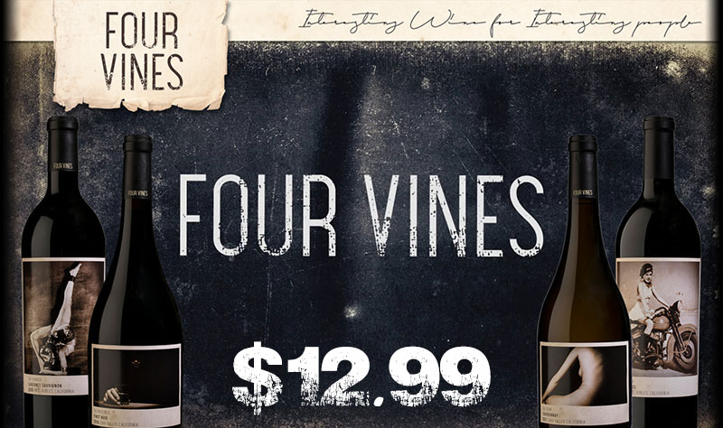 Four Vines - September's Featured Wines